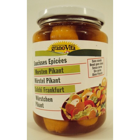 HEIRLER GRANO VITA - wurstel vegetali affumicati