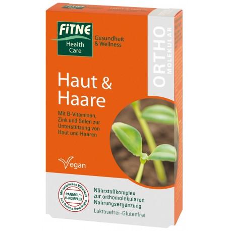 Vitamine Ortomolecolari Pelle e Capelli FITNE