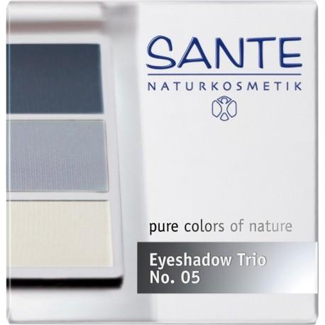 Sante Trio ombretti polvere ocean blue Nº 05
