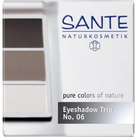 Sante Trio ombretti in polvere smokey eyes Nº 06