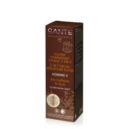 Sante Fluido idratante dopo barba 2 in 1 Bio Caffeina & Acai