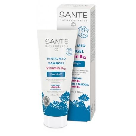 SANTE Gel dentifricio con Vitamina B12 Senza Fluoride Omeopatico