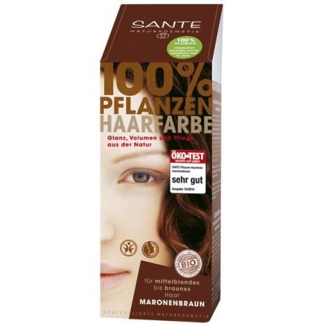 SANTE Naturkosmetik Tinta vegetale in polvere Castano