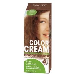 SANTE Naturkosmetik Tinta vegetale in crema Bruno Cacao