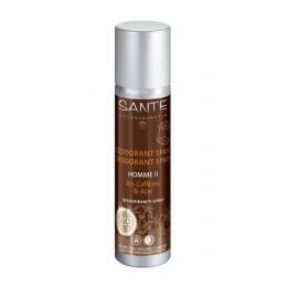 Sante Deodorante spray uomo Bio Caffeina & Acai