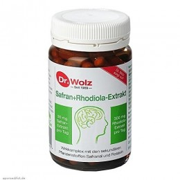 Estratto di Rodiola e Zafferano Dr. Wolz Antidepressivo Antiossidativo