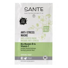 Maschera anti-stress con olio di Mandorla Bio e Vitamina F