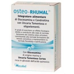 PHACOBEL - ARTECHOL 60caps NO Glutine NO LattosioOSTEO-RHUMAL con Glucosamina e Condroitina Uncaria Tomentosa e oligoelementi