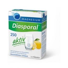 Magnesium Diasporal 250 AKTIV MAGNESIO CITRATO PURO.
