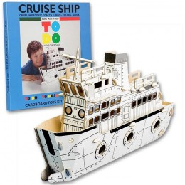 Todo CRUISE SHIP nave in cartone