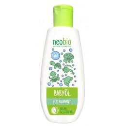 NEOBIO Olio idratante pannolino Bio Albicocca e Bio Mandorla