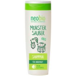 NEOBIO Shampoo Bambini Bio Aloe, Betania e detergenti gentili