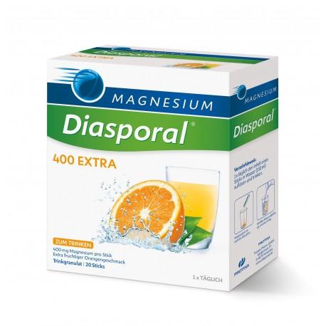 KLOPFER Magnesio Diasporal 400 DIREKT extra orosolubile