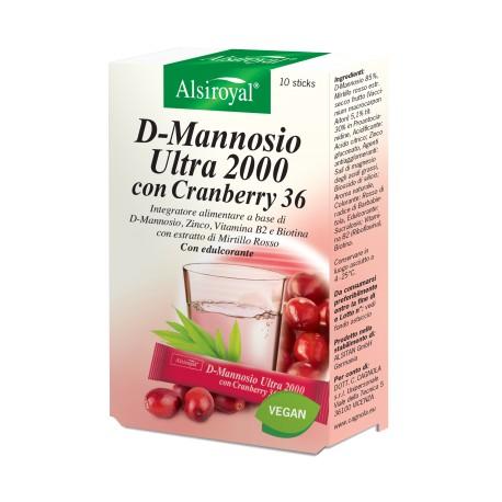 D-MANNOSIO ULTRA 2000 CON CRANBERRY 36