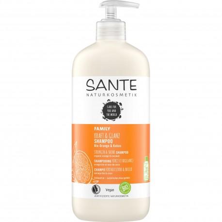 SANTE Shampoo forza & lucentezza Bio Arancio & Cocco 500ml