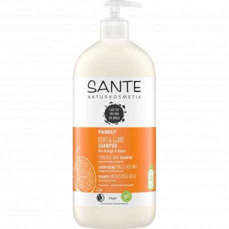 SANTE Shampoo forza & lucentezza Bio Arancio & Cocco 950ml