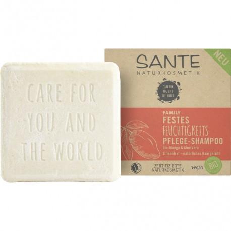 SANTE Shampoo solido idratante Bio Mango & Aloe Vera 60g