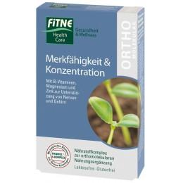 Vitamine ortomolecolari Memoria & Concentrazione FITNE