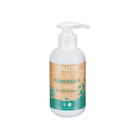 SANTE Sapone liquido Bio Aloe & Limone