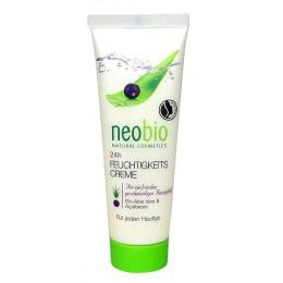 Neobio Crema Viso Idratante 24 ore Bio Aloe Vera e Açai