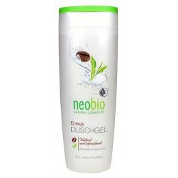 Neobio Gel Doccia Energizzante Bio Caffeina e Te verde