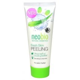 Neobio Peeling viso Rinfrescante Bio Menta e Aloe vera