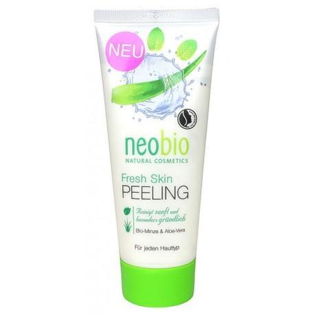 Neobio Neobio Peeling viso Rinfrescante Bio Menta e Aloe vera