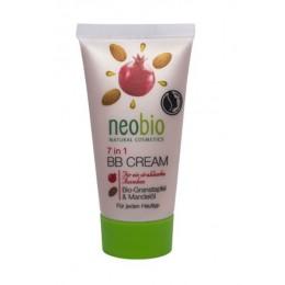 Neobio BB Cream 7 in 1 Bio melagrana e Olio di mandorle