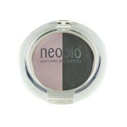 Neobio Ombretto Duo Rosa  Diamante 01