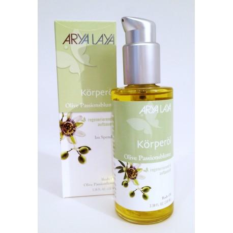 ARYA LAYA OLIO CORPO MASSAGGIO olive e fiori di passiflora
