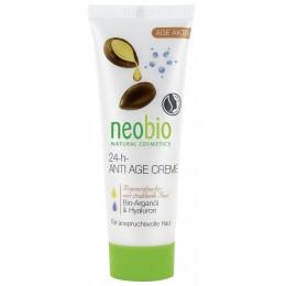 Neobio Crema Anti Age Viso 24 h Bio con olio di argan e acido yaluronico