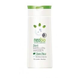 Neobio acqua Micellare 3 in 1 detergente viso Bio Menta e Sale Marino