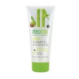 Neobio Gel Doccia e shampoo con Bio olive e Bamboo