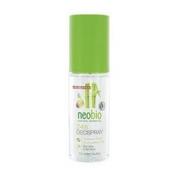 Neobio Deodorante Spray senza sali di Alluminio e gas Olive e Bamboo Bio
