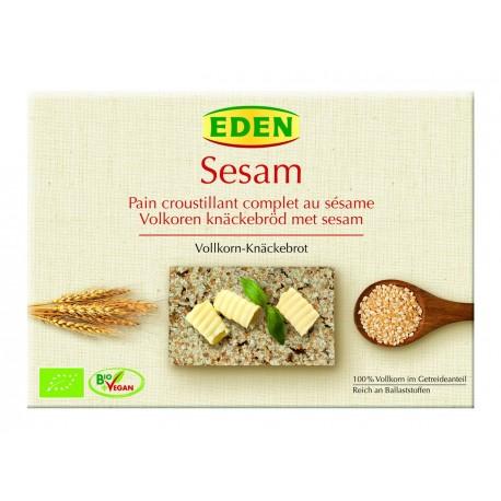 Pane di Segale integrale e sesamo croccante Bio Eden