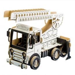 Todo FIRE TRUCK camion pompieri in cartone