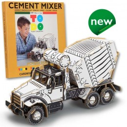Todo CEMENT MIXER betoniera in cartone