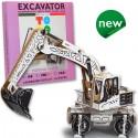 Todo EXCAVATOR escavatore in cartone