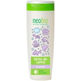 NEOBIO Bagno e Shampoo Bambino Bio Aloe e Bio Calendula