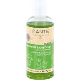 SANTE FAMILY KIDS Shampoo & Gel doccia Bio Aloe per i piccoli esploratori