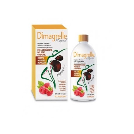 ALCKAMED DIMAGRELLE RAPID PIPERINA 500ML