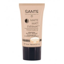 SANTE Matte Matt Evermat™ Mineral fondotinta Make up 01 Naturale