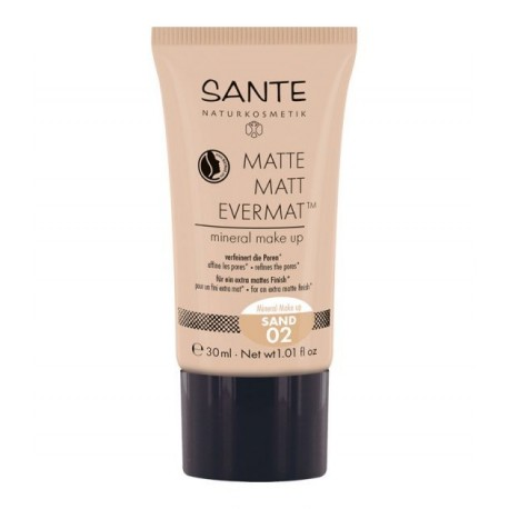 SANTE Matte Matt Evermat™ Mineral Make up 02 Naturale