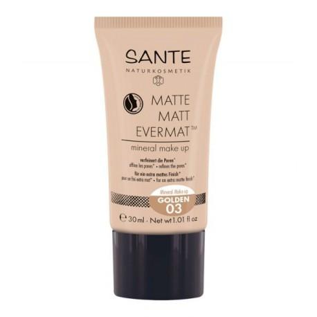 SANTE Matte Matt Evermat™ Mineral Make up 03 Dorato